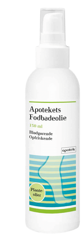 Apotekets Fodbadeolie
