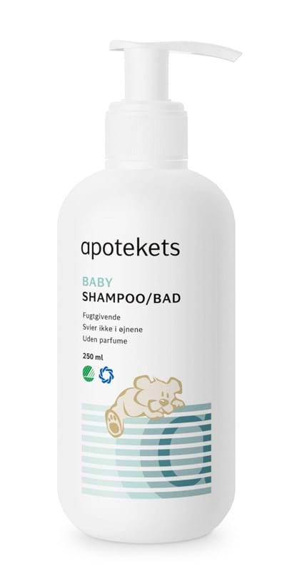 Apotekets Baby Shampoo/Bad med pumpe