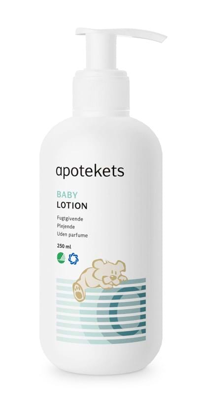 Apotekets Baby Lotion med pumpe